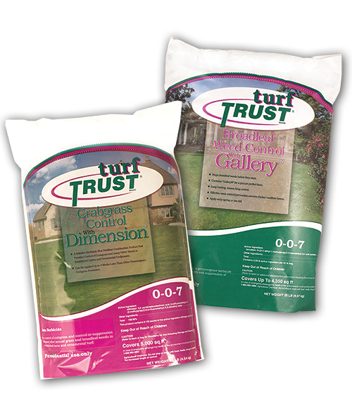 Turf Trust Crabgrass and Weed Control NEW BAGS
